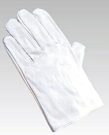 皮手袋 白 (牛皮革) (安全用品・標識/身に付ける安全用品/マスク・耳栓)