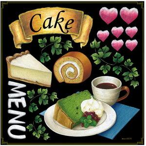 各種ケーキ ボード用イラストシール シフォン (販促POP/看板・ボード用デコレーションシール/ケーキ・スイーツ)