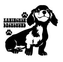 カニンヘンダックスフンド 車 ステッカー 犬 カニンヘン かわいい カニンヘンダックス カッティング 転写式 窓 車ステッカー dog ドッグ イヌ いぬ ペット シール プレゼント 記念 贈り物 2