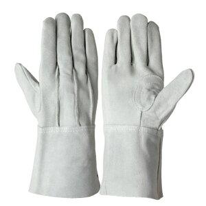 作業用手袋 革手袋 シモン 牛床革手袋 背縫い 床革当て付き 浸入を防ぐ 強度アップ 耐摩耗 耐切創 高耐久 耐熱 10双入り 107AK袖11cm/17cm
