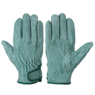 Work gloves leather gloves Simon oil leather gloves special oil watchable processing leather fit abrasion resistance with patch cut wound high durable heat-resistant magic formula 10 bi-717 P-W oil