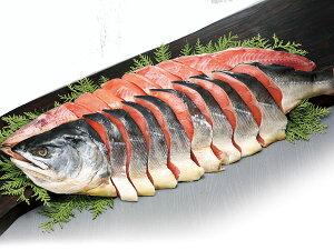時鮭姿切り身 (2Kg) ×1尾送料無料 甘塩トキシラズ