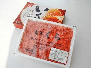 送料無料 いくら醤油漬(鱒卵) 500g入×1箱 マスのイクラ北海道加工