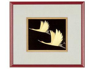 【越前漆器】 鶴パネル/漆器・プレゼント・贈り物・ギフト・御祝・御礼・退職・外国・海外へのお土産