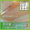壁材 羽目板 桧 檜 無節 厚み10mm×巾60mm×長さ2,900mm(10枚/0.5坪入り)無垢材 国産材