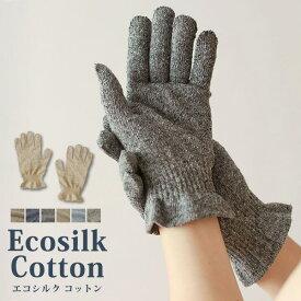 数量限定 エコシルクコットン手袋