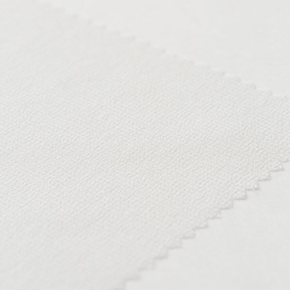 N170 OW(オフ白) 10匁 シルク シフォンジョーゼット 草木染め スカーフ 織物 石川産 藤本商店 ファッションブランド 生地見本