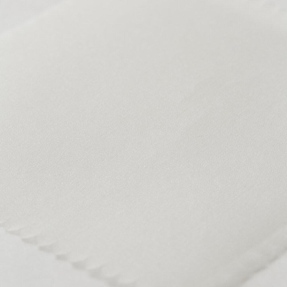 NG7122 OW(オフ白) 7匁 シルク オーガンジー ウェディング 刺繍 布 国産 藤本商店 ファッションブランド カット販売