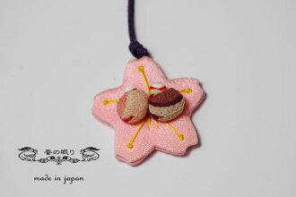 生根netsuke櫻花| 時代裂屋梵砰| 絹[一點物]