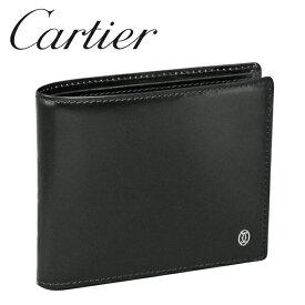 カルティエ 二つ折り財布小銭入れなし ブラック パシャ ドゥ カルティエ L3000220 Cartier