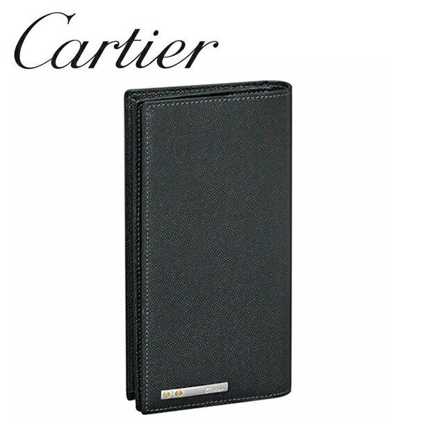 【新品】カルティエ 長財布小銭入れ付き Cartier ブラック(ONYX) サントス・ドゥ・カルティエ L3000769 Cartier 【ラッピング無料】【送料無料】【RCP】
