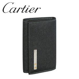 カルティエ キーケース ブラック(ONYX) サントス ドゥ カルティエ L3000775 Cartier