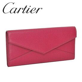 Cartier 長財布 レディースピンク(FUCHSIA) コレクション レ マスト L3001352 Cartier