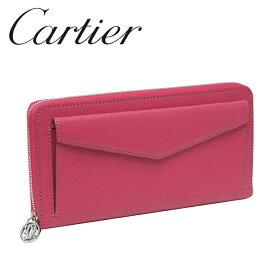 Cartier 長財布 レディース ピンク(フューシャ) コレクション レ マスト L3001355 カルティエ