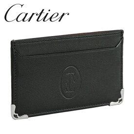 Cartier カードケース パスケース カードホルダー ブラック マスト・ドゥ・カルティエ L3001425 Cartier[カルティエ]