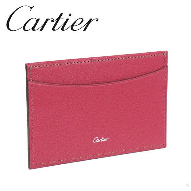 【新品】カルティエ パスケース/カードケース/定期入れ/ 名刺入れ ピンク コレクション レ マスト L3001473 Cartier 【ラッピング無料】