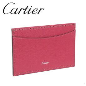 Cartier カードケース/パスケース ピンク コレクション レ マスト L3001473