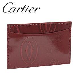Cartier カードケース/パスケース ボルドー ハッピーバースデー L3001476 カルティエ
