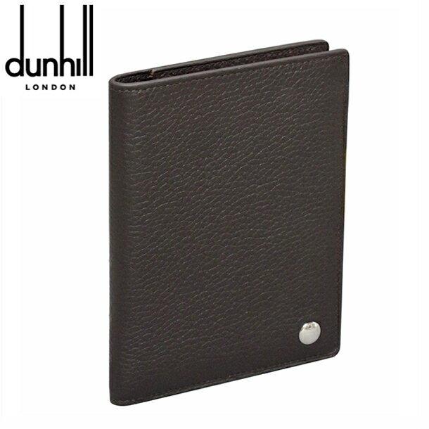 【新品】ダンヒル パスポートケース 手帳カバー ダークブラウン ボストン L2V373B dunhill BOSTON 【送料無料】【楽ギフ_包装】 【RCP】