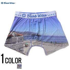 """アンダーウェア メンズ """"Blue Wax【ブルーワックス】The sea and the bridge ボクサーパンツ/全1色""""【あす楽対応】【ボクサーパンツ アンダーウェア 下着】 BITTER ビター プレゼント ギフト"""