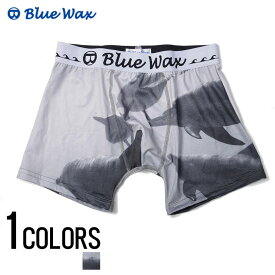 """アンダーウェア メンズ """"Blue Wax【ブルーワックス】Dolphin ocean ボクサーパンツ/全1色""""【あす楽対応】【アンダーウェア ボクサーパンツ サーフ メンズ BITTER ビター】 プレゼント ギフト"""