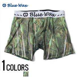 """アンダーウェア メンズ """"Blue Wax【ブルーワックス】Palm tree ボクサーパンツ/全1色""""【あす楽対応】【アンダーウェア ボクサーパンツ サーフ メンズ BITTER ビター】 プレゼント ギフト"""