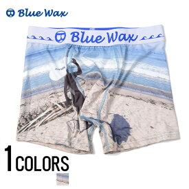 """アンダーウェア メンズ """"Blue Wax【ブルーワックス】Head board ボクサーパンツ/全1色""""【あす楽対応】【アンダーウェア ボクサーパンツ サーフ メンズ BITTER ビター】 プレゼント ギフト"""