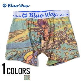 """アンダーウェア メンズ """"Blue Wax【ブルーワックス】Water spray ボクサーパンツ/全1色""""【あす楽対応】【アンダーウェア ボクサーパンツ サーフ メンズ BITTER ビター】 プレゼント ギフト"""