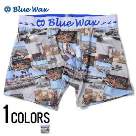 """アンダーウェア メンズ """"Blue Wax【ブルーワックス】Collage ボクサーパンツ/全1色""""【あす楽対応】【アンダーウェア ボクサーパンツ サーフ メンズ BITTER ビター】 プレゼント ギフト"""