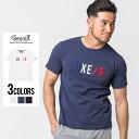 """半袖Tシャツ メンズ """"CavariA【キャバリア】3色コード刺繍入りTシャツ/全3色""""【あす楽対応】トップス クルーネック イ…"""
