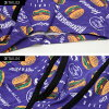 """All two colors of Christmas present gift """"HANG TEN hamburger pattern Men's BOXER BRIEFS/ """""""