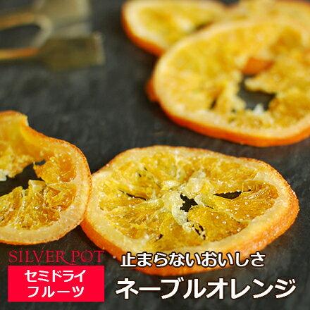 セミドライフルーツ ネーブルオレンジ(90g)お茶請けに太陽のおいしさを。
