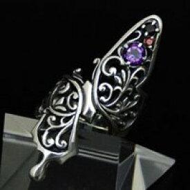 [ Ageha / アゲハ ] 指を大胆に取り巻く華やかリング 3粒の宝石 アゲハリング 【 送料無料 】 ★ クーポン