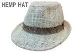 夏用麻100%中折れハットアイボリー57cm58cmサイズ調整アジャスター付きフリーサイズ麦わら帽子帽子HATUV対策日除けメンズレディースゴルフアウトドア