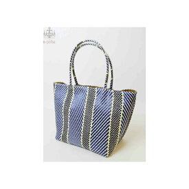 a-jolie カラフルトートバッグ 2019スプリング/サマー 雑材×ビニール ブルー ミニサイズ