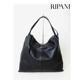 RIPANI(リパーニ) 牛革ダブルハンドルハンドバッグL