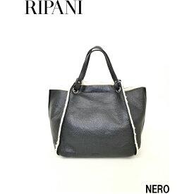 RIPANI (リパーニ) 『アイローネ』シリーズ フェイクムートン トートバッグL