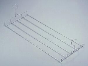 フックが折りたためるバスタオルハンガー日本製ステンレス折りたたみ式丈夫