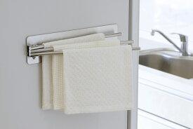 ピタッとステンレス ふきん掛け日本製 ステンレス製 布巾 冷蔵庫キッチンペーパー 下村企販 燕三条 ツバメ