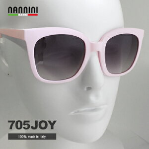 NANNINI サングラス 男性 女性 JOY 705 ピンク