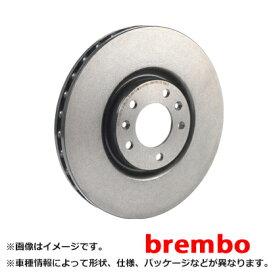 brembo ブレンボ ブレーキディスク リア プレーン 三菱 パジェロ V25C 94/7〜96/2 08.7106.10 || ブレーキディスクローター ブレーキローター ディスクローター 交換 部品 メンテナンス 車 パーツ
