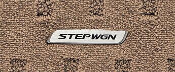 HONDA ホンダ STEPWGN ステップワゴン ホンダ純正 フロアカーペットマット プレミアム/2列目6:4分割ベンチシート用/DB [2016.1〜次モデル][ 08P15-TAA-020A ]