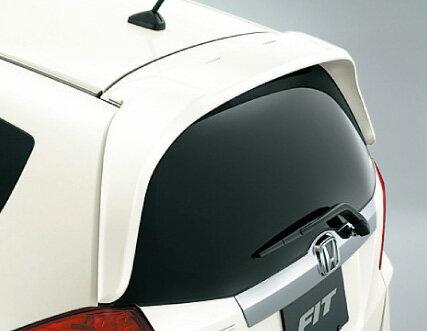 HONDA ホンダ FIT フィット ホンダ純正 テールゲートスポイラー(ウイングタイプ)【 2012.05〜次モデル】||