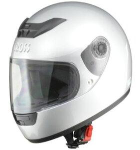 LEAD リード工業 CROSS CR-715 フルフェイスヘルメット シルバー | フルフェイス ヘルメット ヘルメ かっこいい バイク おしゃれ 原付 シールド インナー 人気 ワンタッチ 交換 シルバー 全排気量