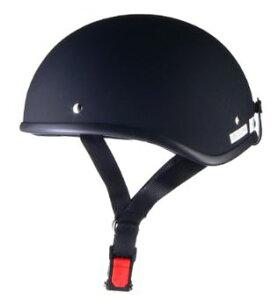 LEAD リード工業 D'LOOSE D-355 ハーフヘルメット マットブラック | バイク ハーフ ヘルメット ヘルメ メンズ レディース 原付 かっこいい おしゃれ インナー バイク用品 交換 リード あご紐 ワン