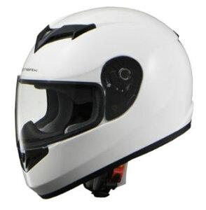 LEAD リード工業 STRAX SF-12 フルフェイスヘルメット ホワイト Mサイズ | フルフェイス ヘルメット ヘルメ かっこいい バイク おしゃれ 原付 二輪 シールド インナー あごひも ワンタッチ 交換 全