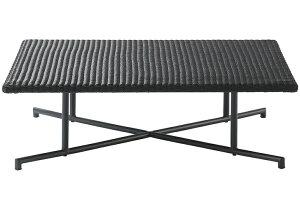PATIO PETITE MA-ローテーブル セット MA-LOW TABLE   テーブル 机 ローテーブル トレイ付き セット おしゃれ ブラック 黒 カフェ ガーデン バルコニー テラス リビング ダイニング 家具 かっこいい シ