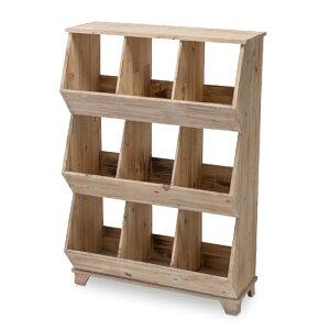 キューブシェルフ L 杉 W66 D31 H98cm | シェルフ キューブ 壁面収納 シンプル おしゃれ かわいい ナチュラル 雑貨 本立て 空間 素材 木製 ウッド 家具 インテリア 自然 女子力 フォレスト 天然 ぬ