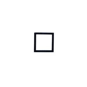 【条件付き送料無料】 スクエアブラケット S ブラック アイアン W0.8 D8 H8cm   ブラケット ガーデン プチリフォーム 園芸 棚受け 雑貨 マーク DIY アンティーク調 クラシカル 上品 収納 ディスプ