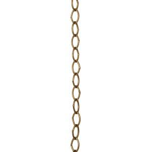 【条件付き送料無料】 アイアンチェーン アンティークゴールド アイアン L100cm | チェーン アイアン 鎖 ディスプレイ カフェ風 おしゃれ かわいい シンプル 空間演出 フック 組み合わせ DIY 収